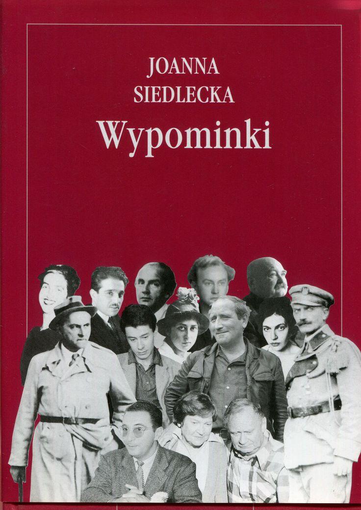 """""""Wypominki"""" Joanna Siedlecka Cover by Andrzej Barecki Published by Wydawnictwo Iskry 2001"""