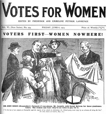 an argument against womens right to vote Women's suffrage and the question of color after women there were granted the right to vote in local elections dubois's basic argument was that women and african americans shared the same problems and that they should have the right to vote because justice demanded it.