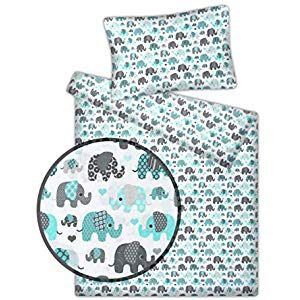 Kinderbettwäsche viele Designs 2-tlg. 100% Baumwolle 40×60  100×135 cm #Küche …