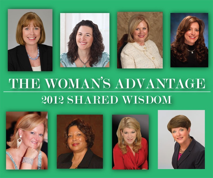 The Woman's Advantage Shared Wisdom Calendar - Jump start each day with the advice of a successful woman.     Discover 365 innovative ideas on strategy, teambuilding, marketing, finance, and more. Every day you'll learn a valuable lesson from a mentor who is successfully growing her business.