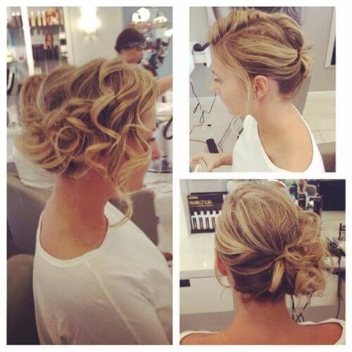 Best 25 Wedding Updo Ideas On Pinterest: Best 25+ Romantic Curls Ideas On Pinterest