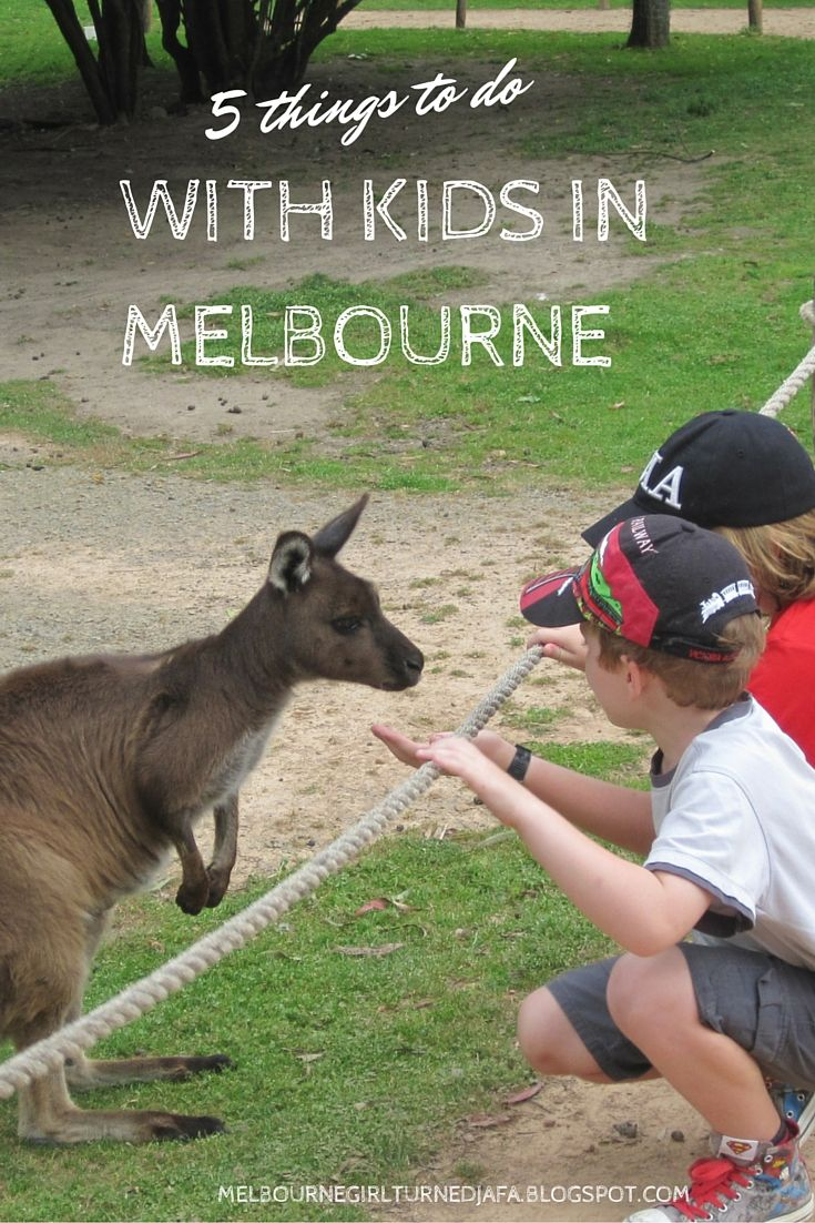Find out five things you can do with kids in Melbourne