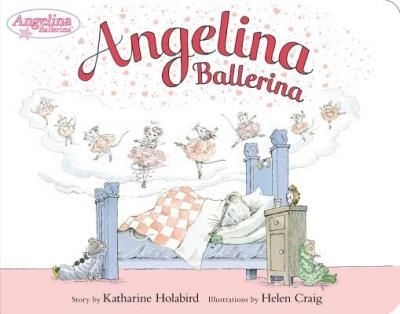 Angelina Ballerina.  My girls love the Angelina Ballerina books.  I love the illustrations.