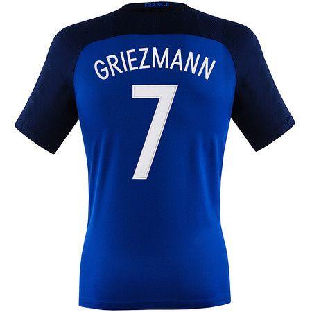 Griezmann Jersey France Home Euro 2016