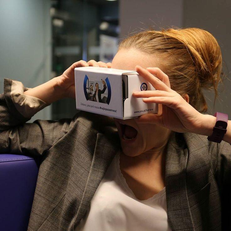 An awesome Virtual Reality pic! Uwaga #konkurs! Mamy dla Was 80 płatnych praktyk i staży (aplikacje jeszcze tylko do 15 kwietnia na pzu.pl/kariera) i tyle samo okularów #cardboard #virtualreality. Jak je zdobyć? 1.Wrzuć na #insta (publiczne) zdjęcie obrazujące wybrane hasło:#ciekawewyzwania #worklifebalance lub #atrakcyjnewynagrodzenie. To właśnie #najlepszastrona naszej oferty dla studentów i młodych absolwentów! 2.Opisz je konkursowymi hasłami #najlepszastrona #praktyki #staze…