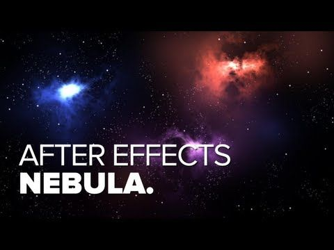 Nebula Space Scene Tutorial - After Effects - YouTube