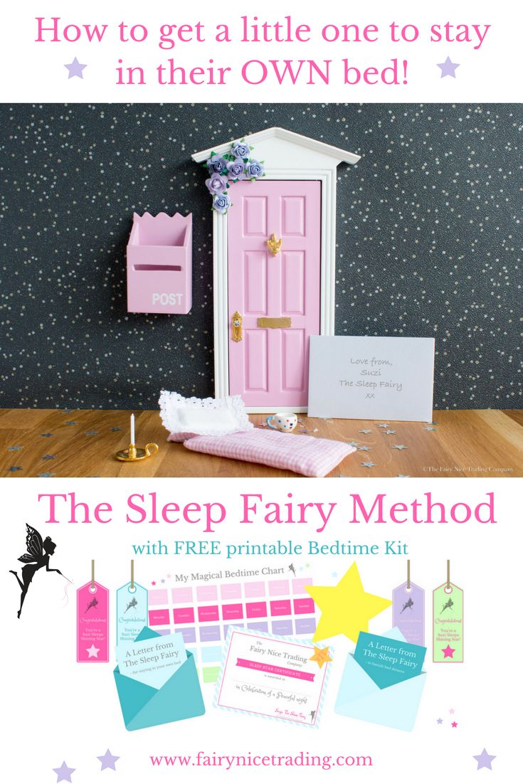 Blog - How to get children to sleep in their own bed all night using the Sleep Fairy