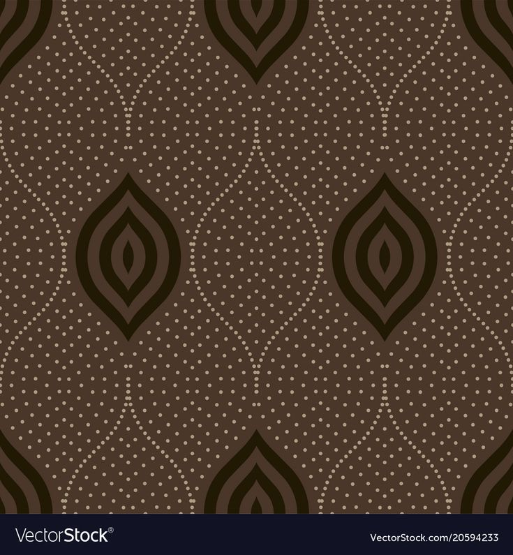 Download Seamless dots ornament vector image on VectorStock in 2020 ...