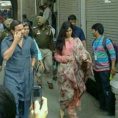Katrina, Saif Spotted Shooting In Punjab For 'Phantom',Phantom, Katrina Kaif, Saif Ali Khan, on the set