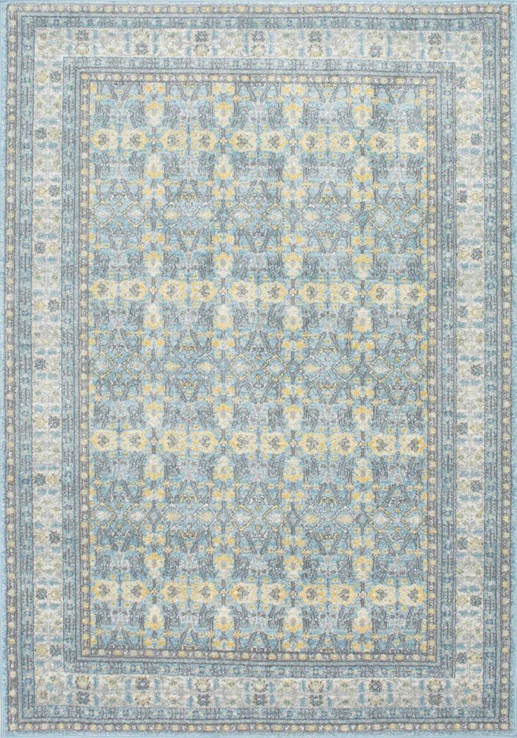 Lovely BosphorusFlower Pattern BD25 Rug