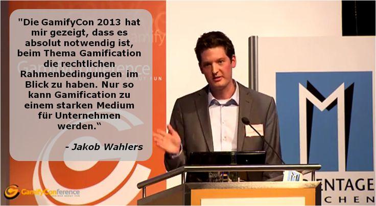 Jakob Wahlers über die #GamifyCon 2013 in München.