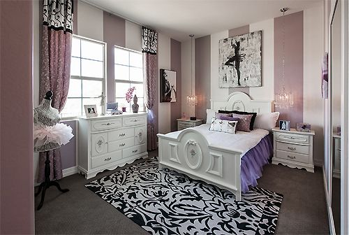 17 best images about bedrooms in purple and mauve on pinterest ontario decor room and - Teenager nice bedroom ...