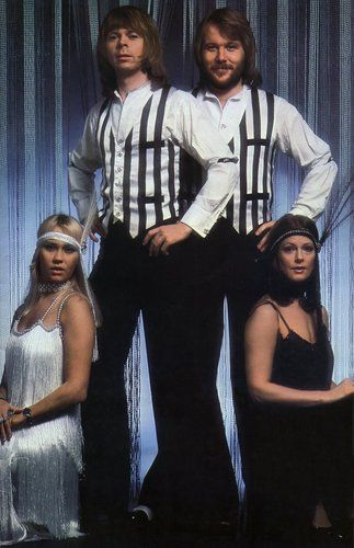 ABBA - 1920s flapper look