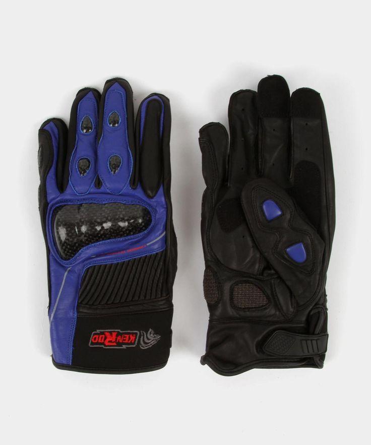Guante de Motociclismo Kenrod KR-G33 Azul