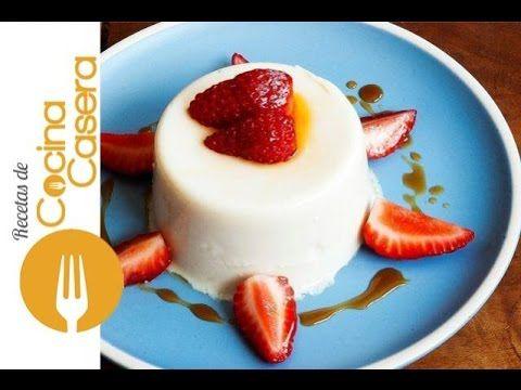 Gelatina de leche condensada | Recetas de Cocina Casera - Recetas fáciles y sencillas