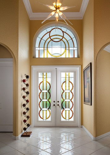 Mcmow Art Glass Entryways Contemporary Entry Doors