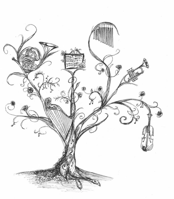 12 Best Images About Music For Melodica On Pinterest: 12 Best Images About Illustration-tree-music On Pinterest