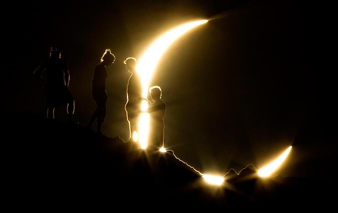 Många kunde beskåda solförmörkelse - DN.SE
