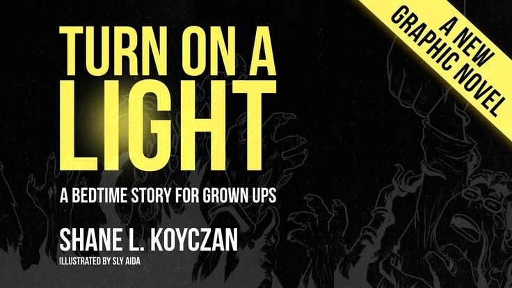"""Here's a thing I did with one of my old pieces. Enjoy. A graphic novel of the poem """"Turn On A Light"""" available for purchase at: https://shanekoyczan.store-08..."""