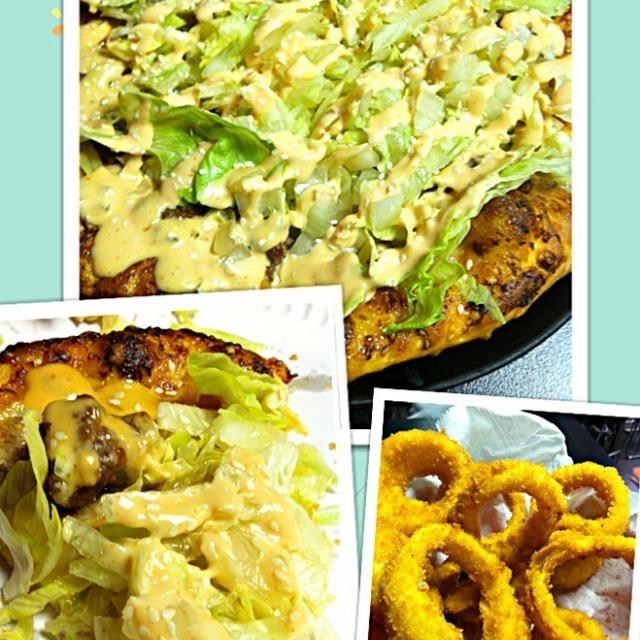 レシピとお料理がひらめくSnapDish - 52件のもぐもぐ - Big Mac Pizza / ビッグマックピザ by Juliee ~ ジュリー