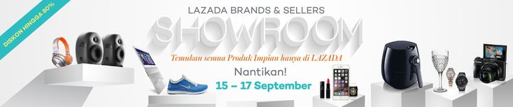 Promo Lazada: Brands and Sellers Showroom
