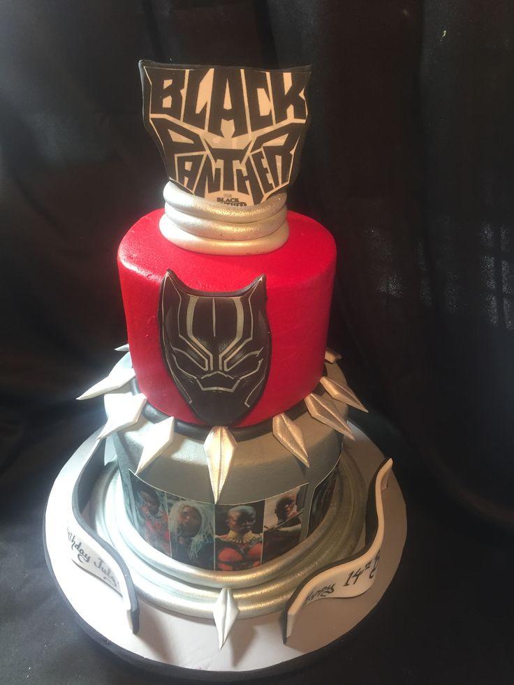 43+ Black panther birthday cake walmart ideas