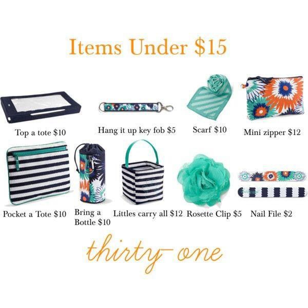 Under $15   Thirty-One Gifts   Pinterest