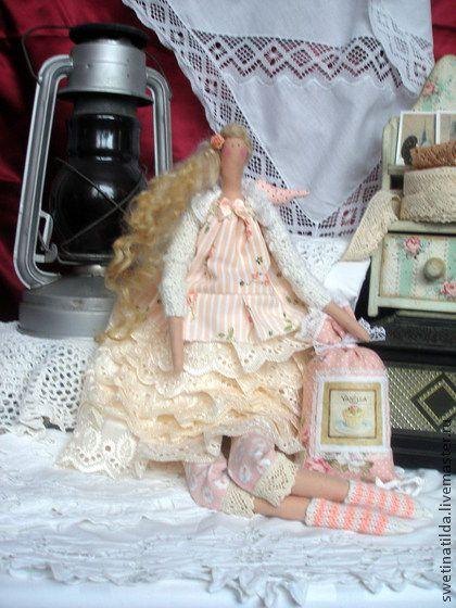 Лоретт - нежность,изящество,кукла ручной работы,тильда,очарование,уют