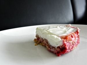 Gateau fromage blanc framboise allege