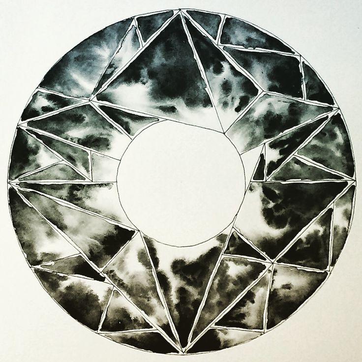 """Et af mine seneste værker """"Cirklen"""""""
