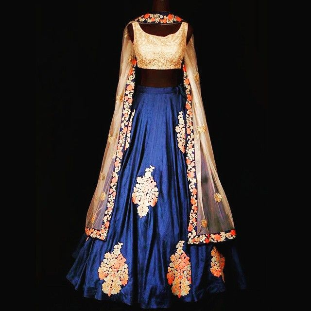 Full handwork lehenga takes 25 days to make ... in raw silk. Measurements required. Whatsapp to order 9345458930.
