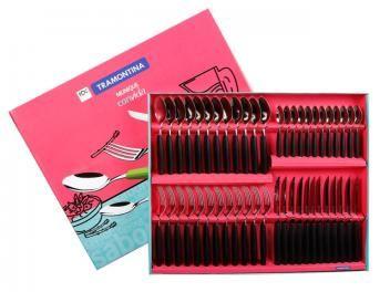 Conjunto de Talheres 48 Peças Inox - Tramontina 23299/054
