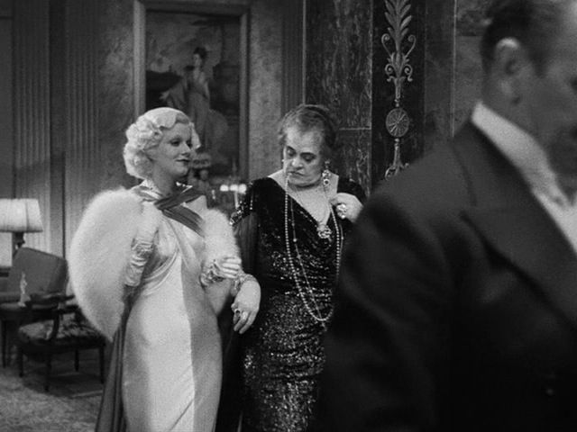 "The Style Essentials--Jean Harlow Draped in Deco Decadence in 1933's DINNER AT EIGHT. Great final moment of the movie when Kitty claims she's read a book (!) that says machines will take over all our jobs... Carlotta looks her over and assures her, ""Oh my dear, that's something you'll never have to worry about."""