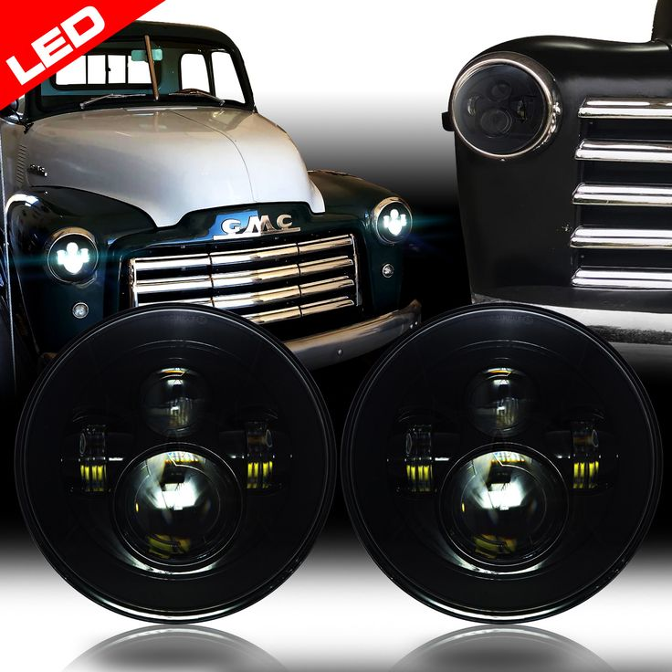 Classic Car LED Headlights Sealed Beam Upgrade. We have all colors and sizes for your classic car truck.