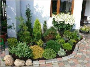 45 Fantastic Evergreen Landscape Ideas For Front Yard Garden – Lifesacake