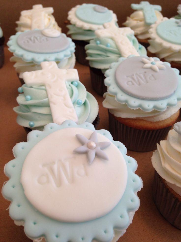 best 25  baptism cupcakes ideas on pinterest