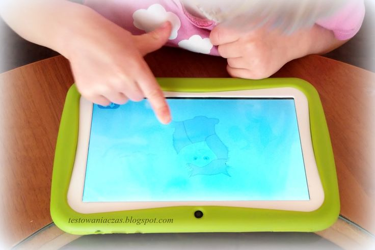 tablet blow kids