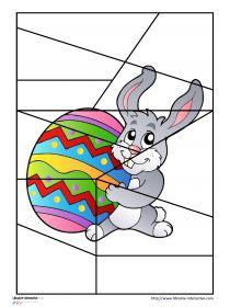 Librairie-Interactive - Puzzles sur le thème de Pâques