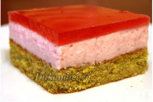 Бисквитный торт с птичьим молоком | Диета Дюкана