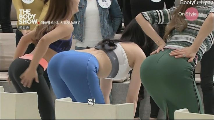 Yoo Seung ok's Booty and Back in Yoga Pants