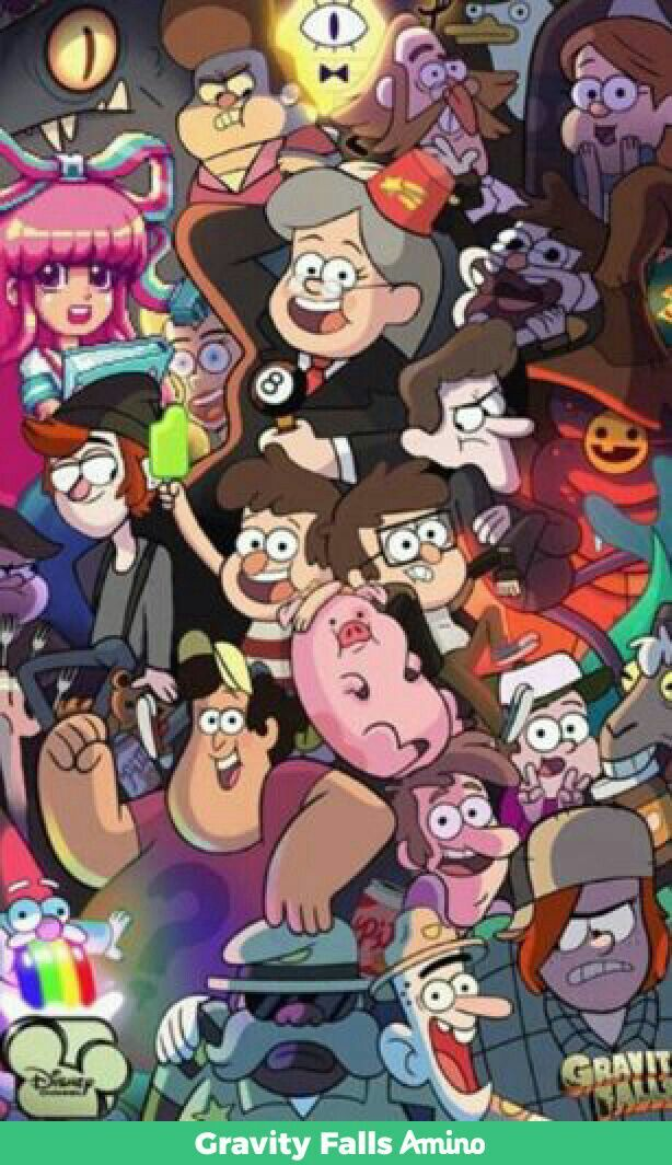 Gravity Falls Wallpaper Celular Hd There Is Mabel And Thems Two Gfsp Gravity Falls