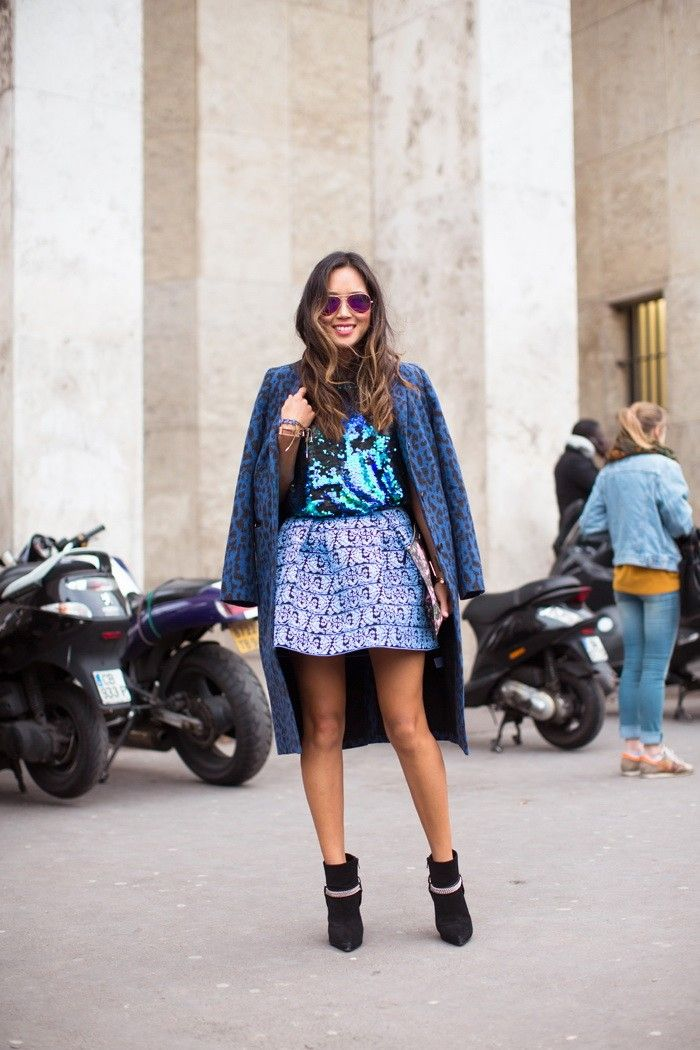 Colored Sequins Street Style (8)