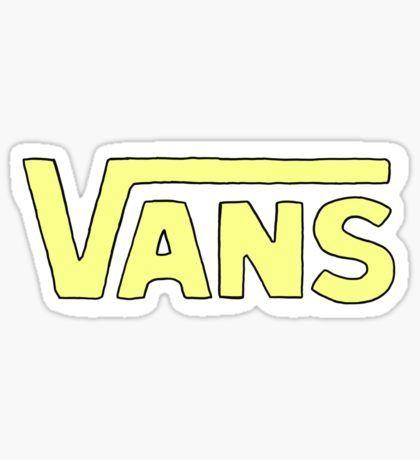 Vans Off The Wall Sticker Blue