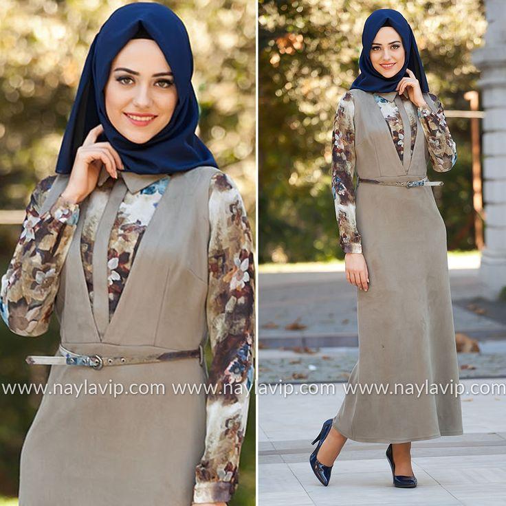 PUANE - DRESS - 4666Y #hijab #naylavip #hijabi #hijabfashion #hijabstyle #hijabpress #muslimabaya #islamiccoat #scarf #fashion #turkishdress #clothing #eveningdresses #dailydresses #tunic #vest #skirt #hijabtrends