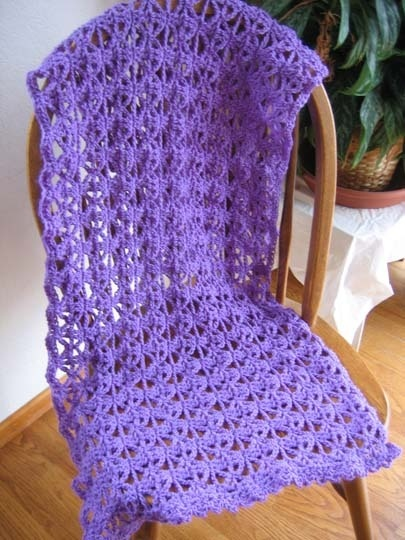 Crochet Easy Shawl Pattern Free : 17 Best images about Crocheted Prayer Shawls on Pinterest ...