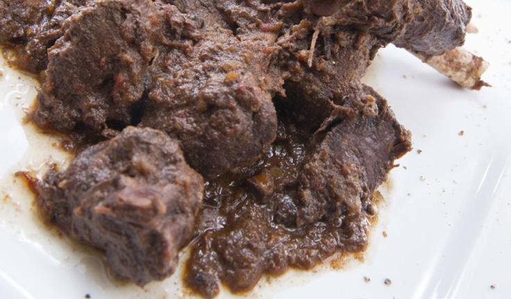 carne cinghiale - wild boar meat http://www.venetoesapori.it/it/protagonista/ristorante-valpomaro #food #italy #typical #veneto #padova #cibo #meat #carne #cinghiale