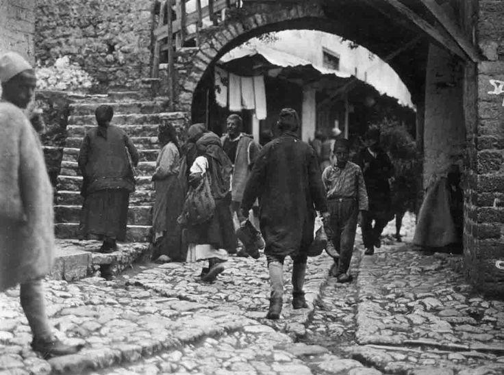 Παραμυθιά, η περίφημη Σκαλοπούλαμε την Καμάρα, 1913