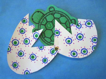 preschool turtle crafts | 120417craftturtle