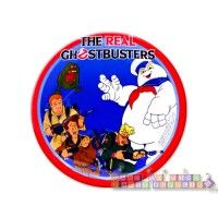 Ghostbusters Small Paper Plates  http://hardtofindpartysupplies.com/ghostbusters-ghost-busters-birthday-party-supplies/Ghostbusters-Small-Paper-Plates-dessert-cake-ghost-busters-movie