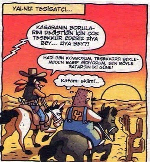 Yalnız Tesisatçı Karikatürü Özer Aydoğan | Karikatürname